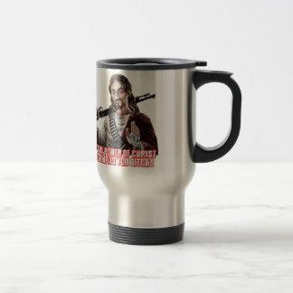 Funny jesus travel mug