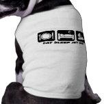 Funny jet ski dog tee shirt