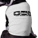 Funny jet ski doggie shirt