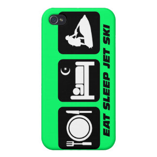 funny jetskiing iPhone 4 cases