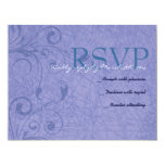 Funny Jewish Hora Chair Dance Reply Card Personalized Invitations
