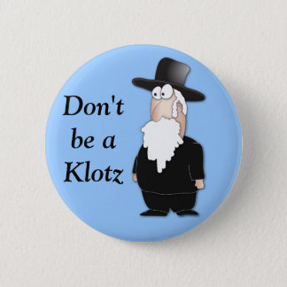 Funny Jewish rabbi - cool cartoon Button