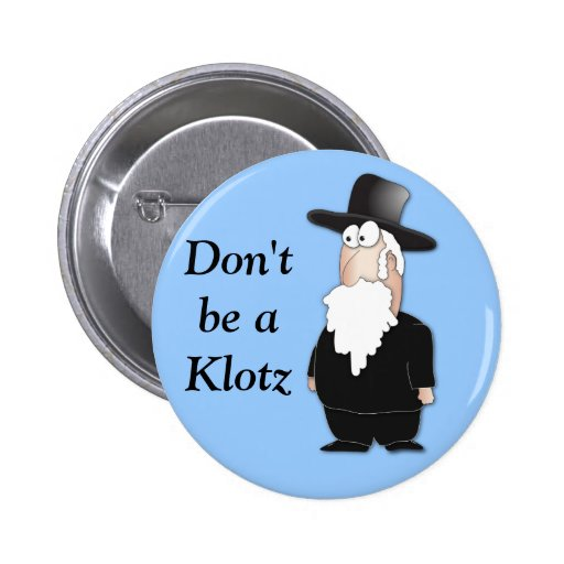 Funny Jewish rabbi - cool cartoon Buttons