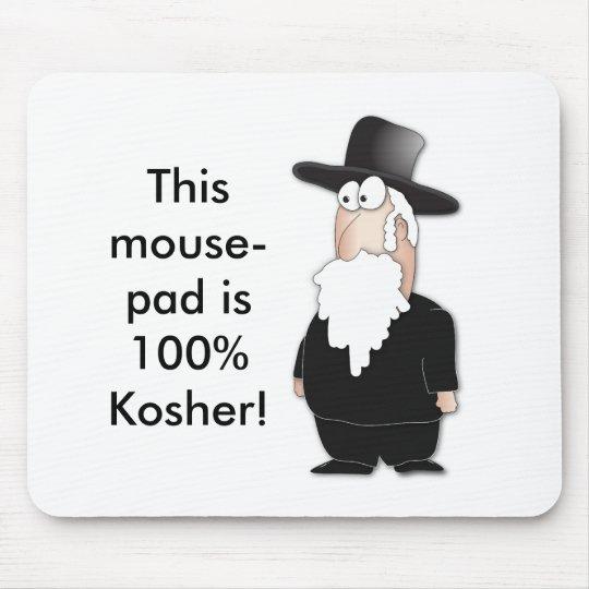 Funny Jewish rabbi - cool cartoon Mouse Pad