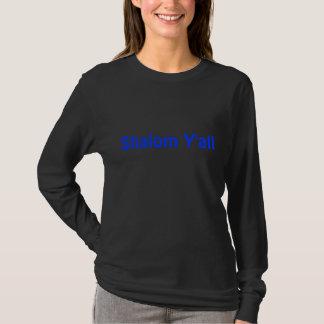 Funny jewish t-shirtShalom Y'all t shirt