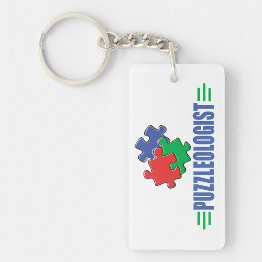 Funny Jigsaw Puzzle Keychain
