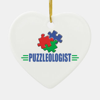 Funny Jigsaw Puzzle Christmas Tree Ornaments