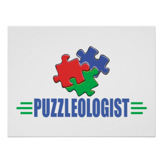 Funny Jigsaw Puzzle Print