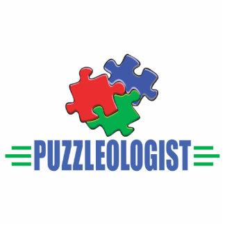 Funny Jigsaw Puzzle Statuette