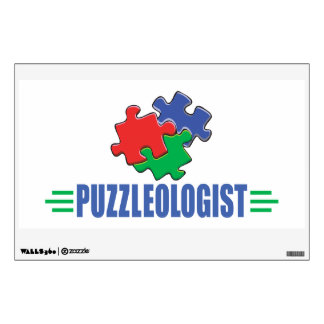 Funny Jigsaw Puzzle Wall Sticker