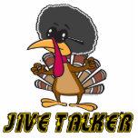 funny jive talker turkey cartoon photo sculpture