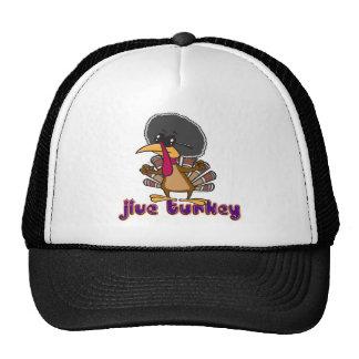 funny jive turkey cartoon with text trucker hat