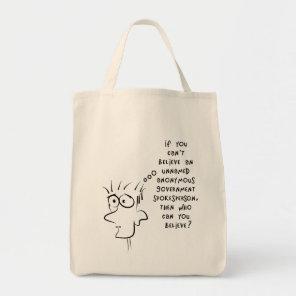 funny joke unnamed anonymous government source tote bag