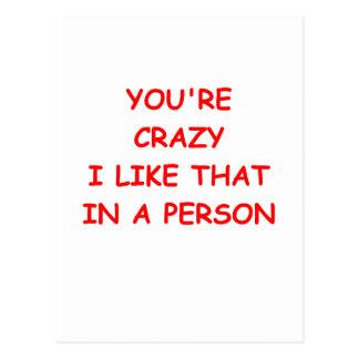 funny jokes for you postcard