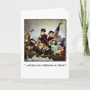 Funny July Fourth Greeting Card