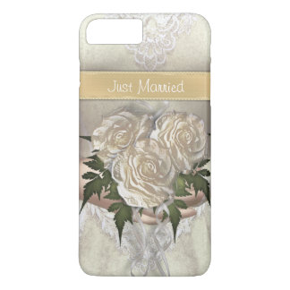 Funny Just Married Bride iPhone 8 Plus/7 Plus Case