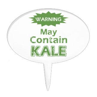 Funny Kale Cake Topper