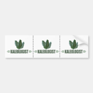 Funny Kale Lover Bumper Sticker