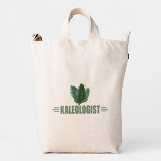 Funny Kale Lover's Duck Bag