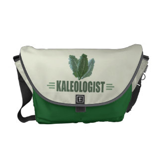 Funny Kale Messenger Bag