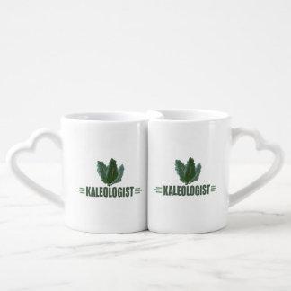 Funny Kale Couples' Coffee Mug Set