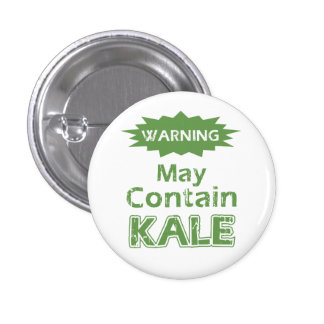 Funny Kale Pinback Button