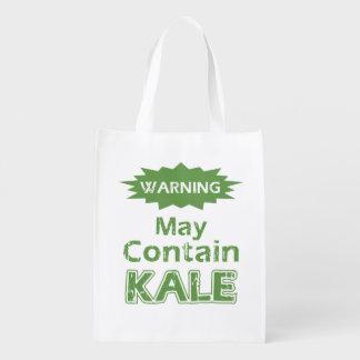 Funny Kale Reusable Grocery Bag