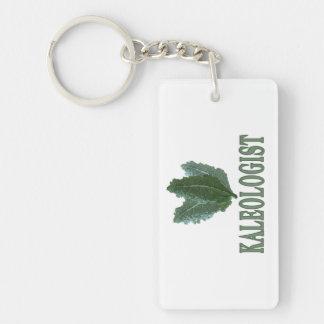 Funny Kale Single-Sided Rectangular Acrylic Keychain