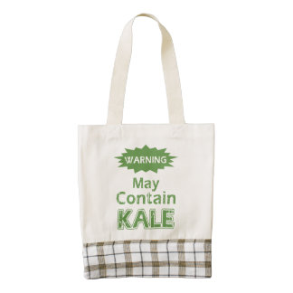 Funny Kale Zazzle HEART Tote Bag