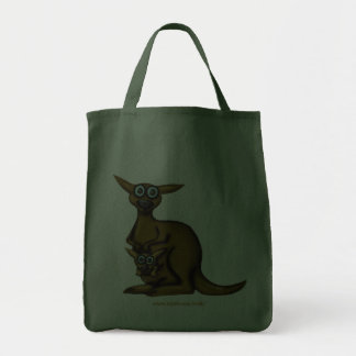 Funny kangaroo bag design