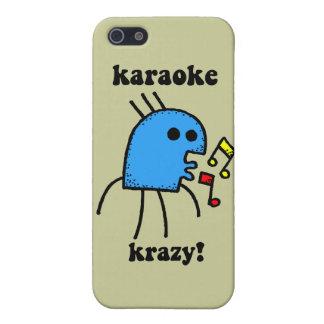 funny karaoke iPhone SE/5/5s case