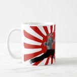 Funny Karate Kitten gifts Classic White Coffee Mug