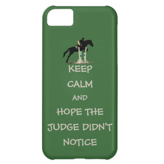 Funny Keep Calm Horse iPhone 5 Case