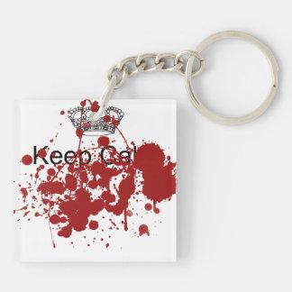 Funny Keep Calm Keychain