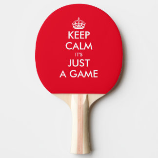 Funny Keep calm table tennis ping pong paddle