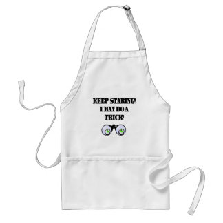 Funny Keep Staring T-shirts Gifts Adult Apron