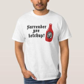 Funny Ketchup Pirate T Shirt