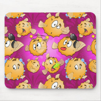 Funny kids mouse pad with Puff