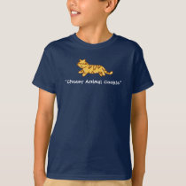 Funny Kids T-shirts | Tiger Animal Cookie
