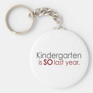 Funny Kindergarten Grad Keychain