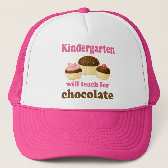 Funny Kindergarten Teacher Cap