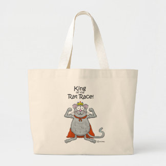 Funny Kinf of the Rat Race Boss Boss s Day Tote Bag