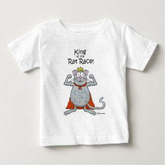 Funny King of the Rat Race Boss Boss's Day Baby T-Shirt