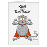 Funny King of the Rat Race Boss Boss's Day Cards
