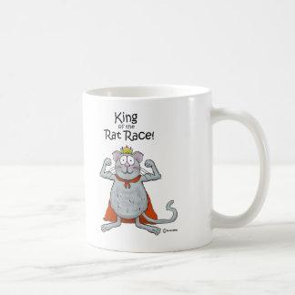 Funny King of the Rat Race Boss Boss's Day Coffee Mug