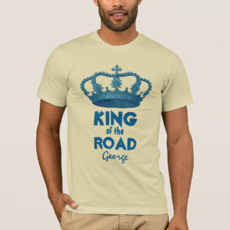Funny King of the Road Crown V25E T-Shirt