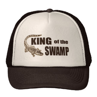Funny King of the Swamp - Gator Hunter Hat