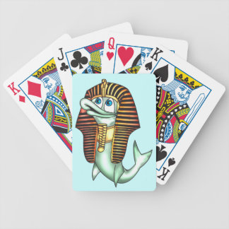 Funny King Tut Fish Playing Cards