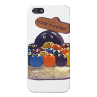 FUNNY KITSCH PET ROCK CONCERT 1970'S CASE FOR iPhone SE/5/5s