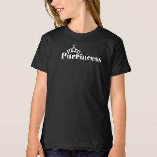 Funny Kitten Pun Girls Cute Black T-Shirt